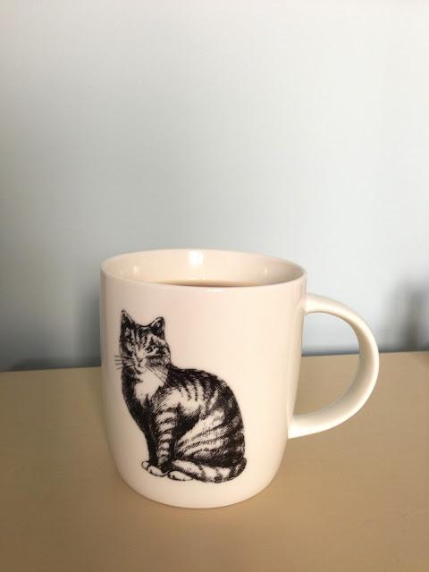 cat mug,