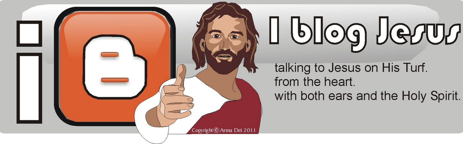 i blog Jesus