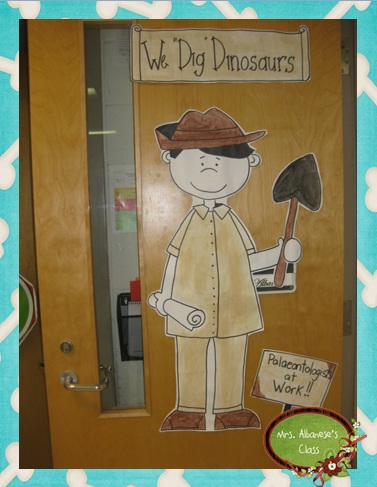 Our ... & Dinosaur Classroom Door Pictures to Pin on Pinterest - PinsDaddy Pezcame.Com