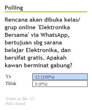polling-kursus-elektronika-bersama