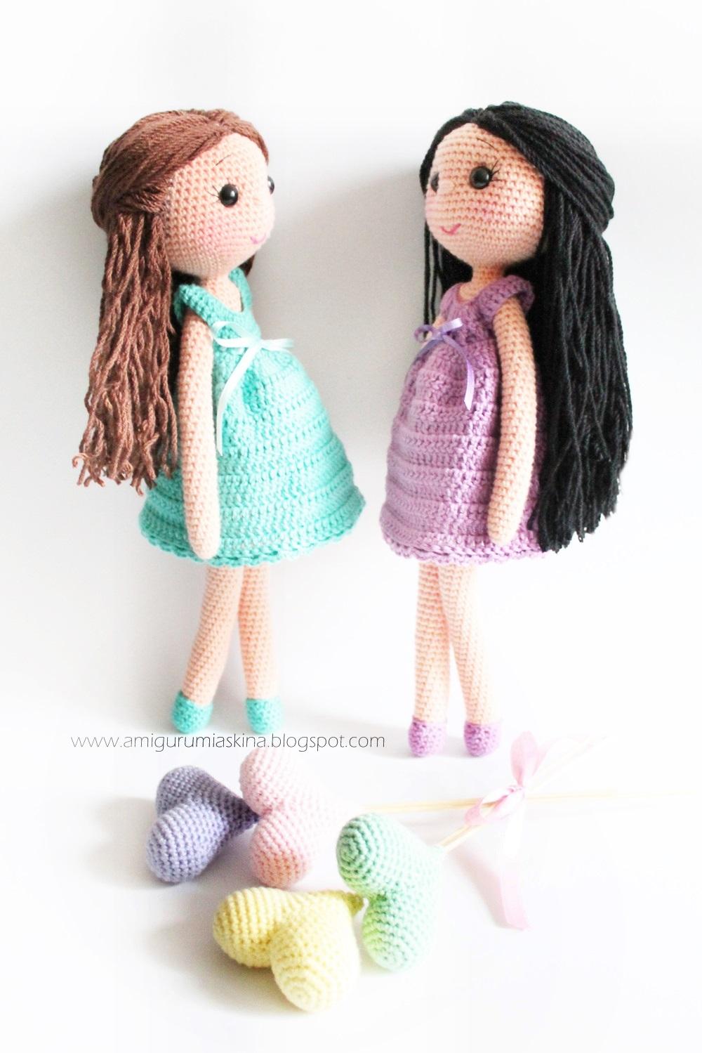 Niloya Amigurumi Free Pattern Doll Oyuncak Bebek : Amigurumi Abla-Karde? Bebekler-AmigurumiDoll - Tiny Mini ...