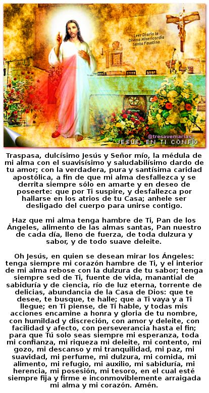 divina misericordia con hermosa oracion de san buena venturas