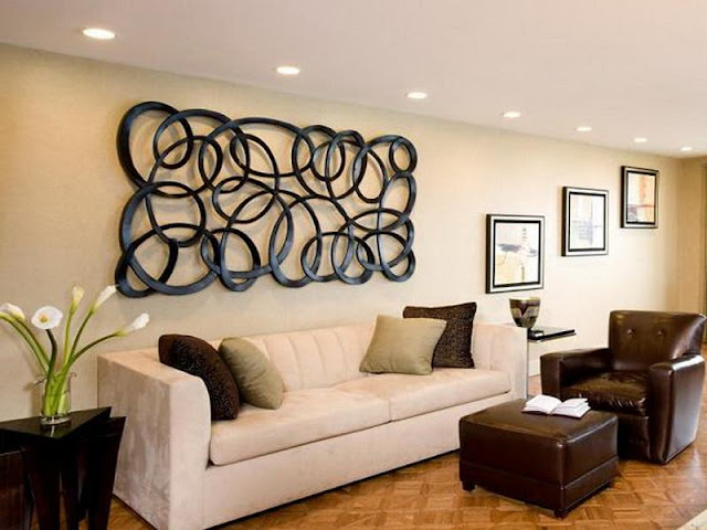 Living Room Wall Decor Ideas for Colorful Interior