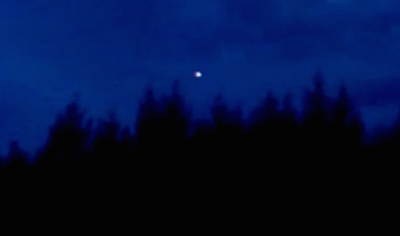 Mysterious Glowing UFO Caught Over Idaho 2015, UFO Sightings