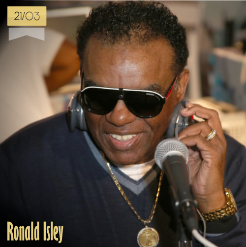 21 de marzo   Ronald Isley - @TheRealRonIsley   Info + vídeos