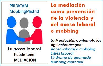 La mediación como prevención del acoso laboral