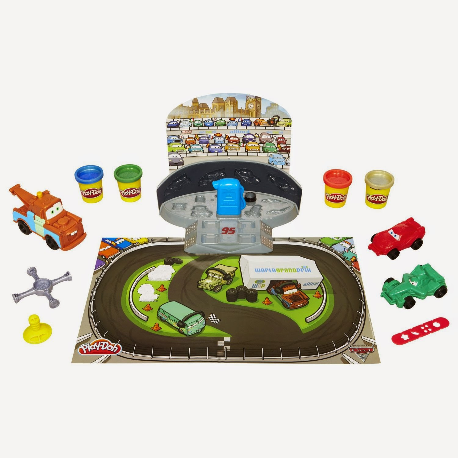 Cars 2 Mold N Go Speedway