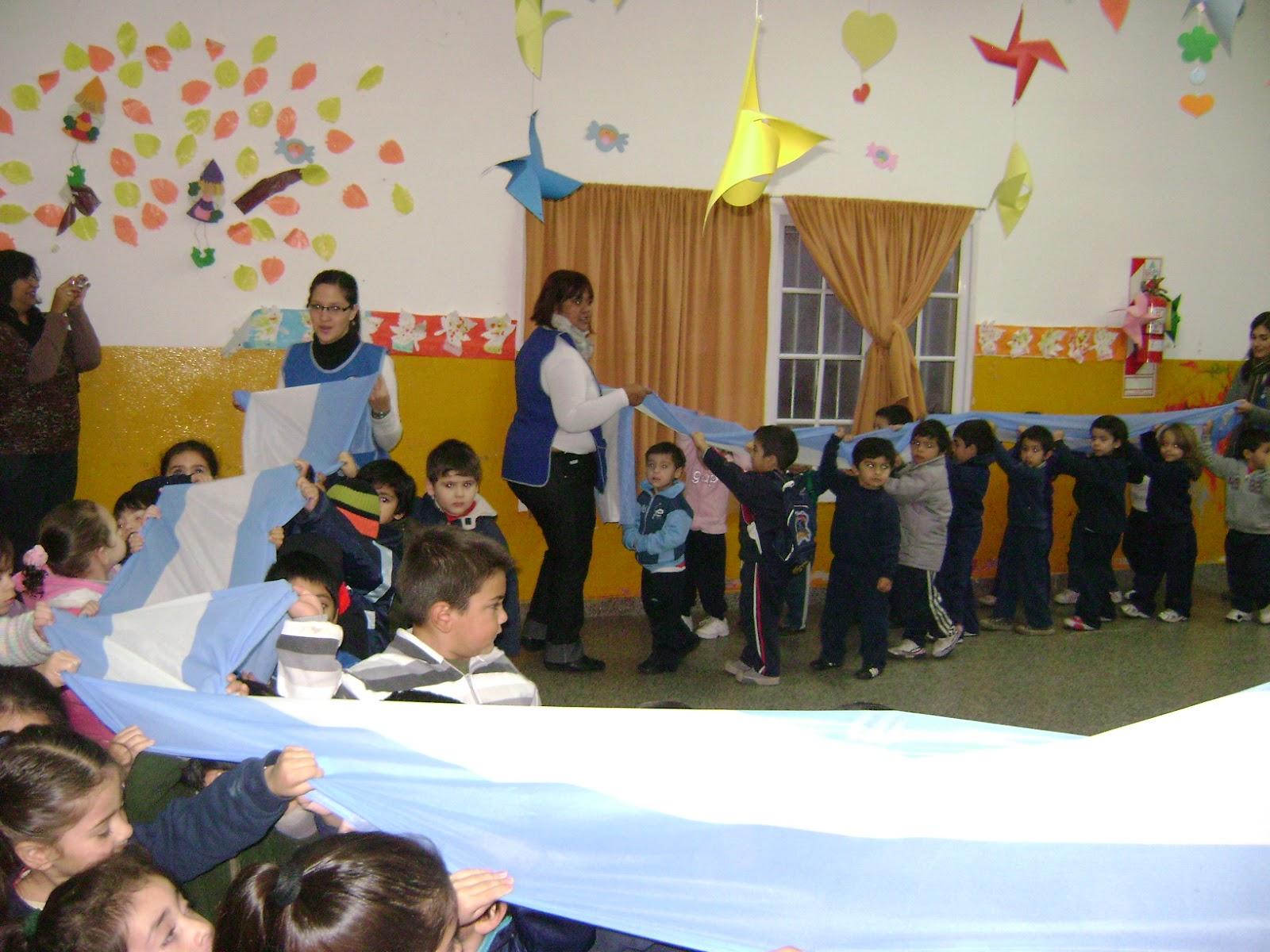 participaron alumnos y docentes de todas las salitas de Nivel Inicial