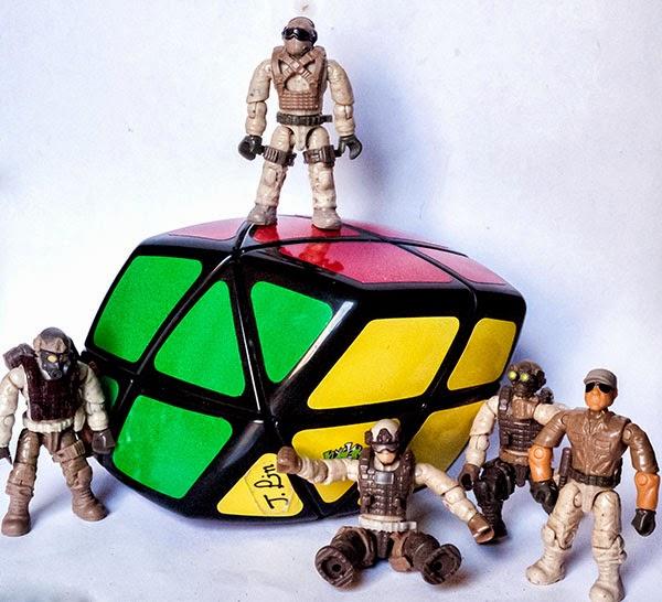 Skewb Curvy Rhombohedron Tutorial - Rombohedro Skewb Solución
