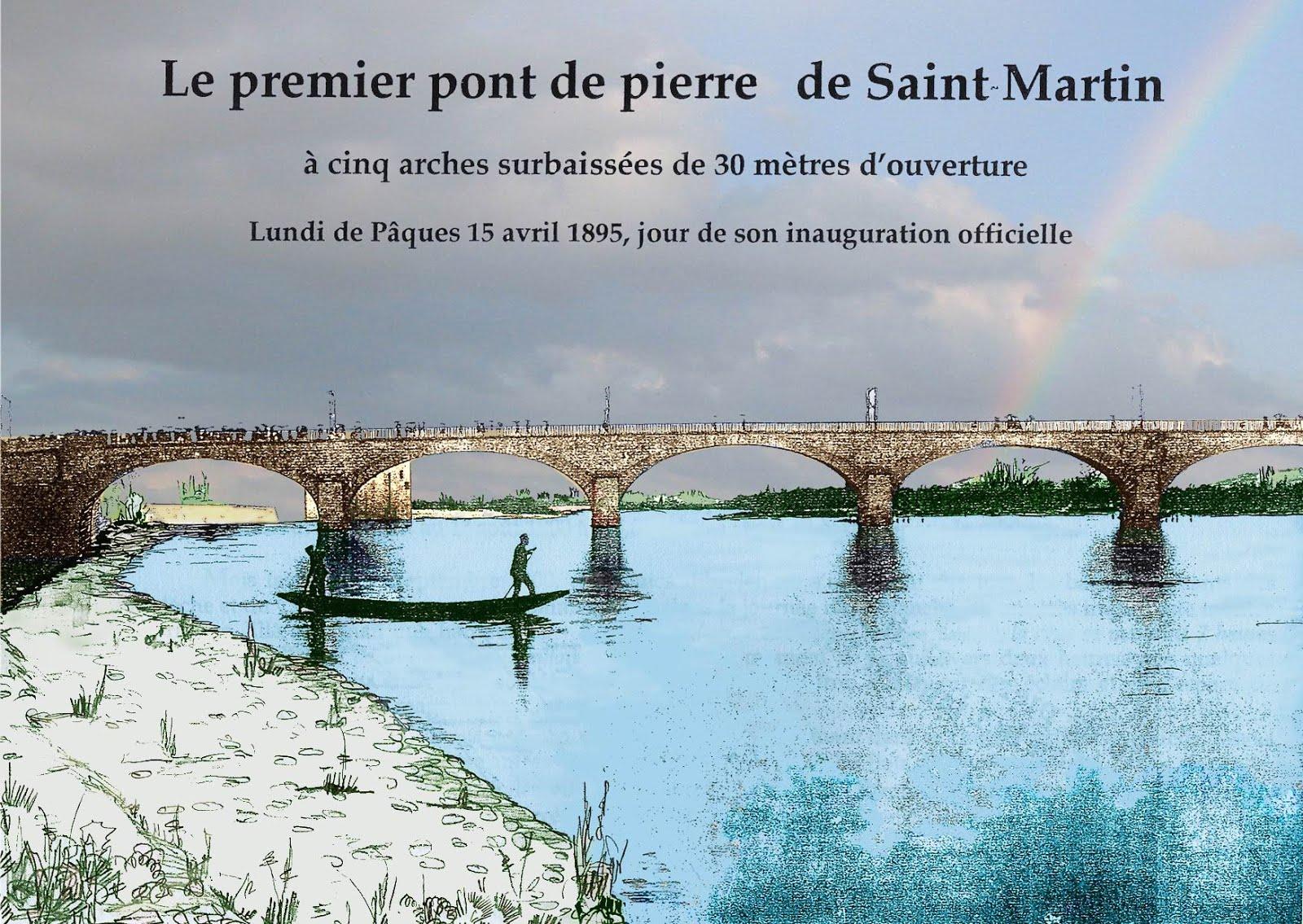 LE PREMIER PONT ENTRE St MARTIN et AIGUEZE