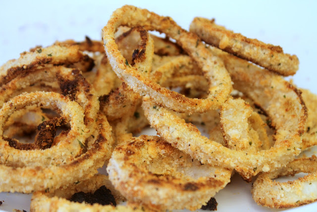 Riches to Rags* by Dori: Homemade Baked Onion Rings
