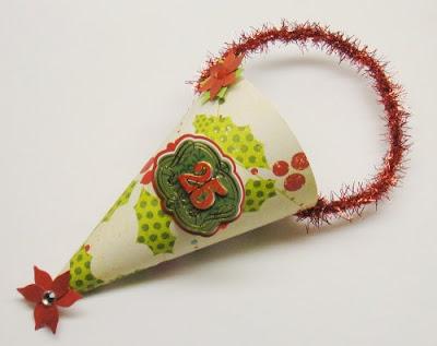 Scrapbook paper ornaments 2
