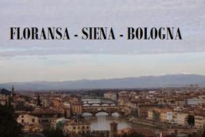 Floransa - Siena - Bologna