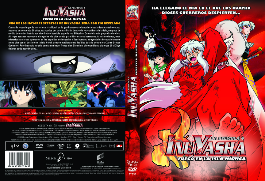 Inuyasha Peliculas 4/4 Lat/Cast/Ing/Jap + Sub 720p servidor Mega INUYASHA-Peli-4-2011