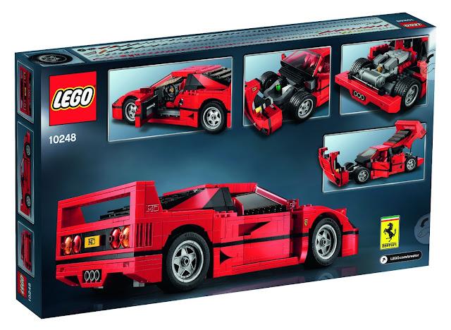 LEGO cars, Ferarri F40, Ferrari merchandise