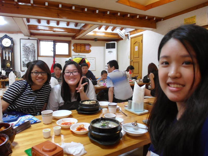 Ewha University Summer Studies Travel Seoul Toksokchon review lunarrive blog singapore
