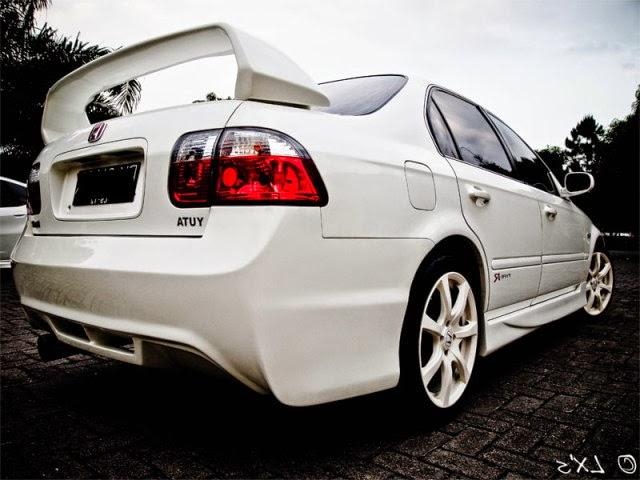 Modifikasi Honda Ferio Elegant White