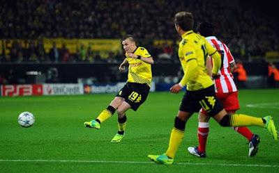 Borussia Dortmund 1 - 0 Olympiakos Piraeus (1)