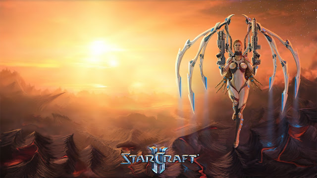 Kerrigan Redeemed Wallpaper por greyf0xuk