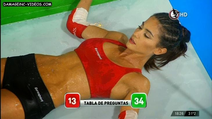 Delfina Gerez Bosco wet fitness beauty damageinc-videos HD