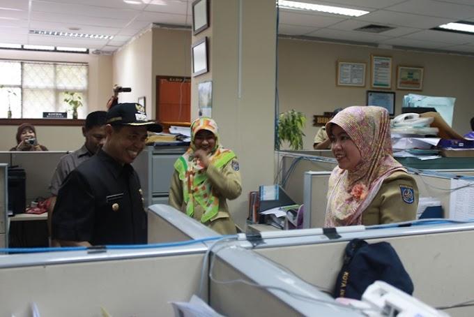 Walikota Sidak Kehadiran PNS Hari Pertama Kerja Pasca Lebaran