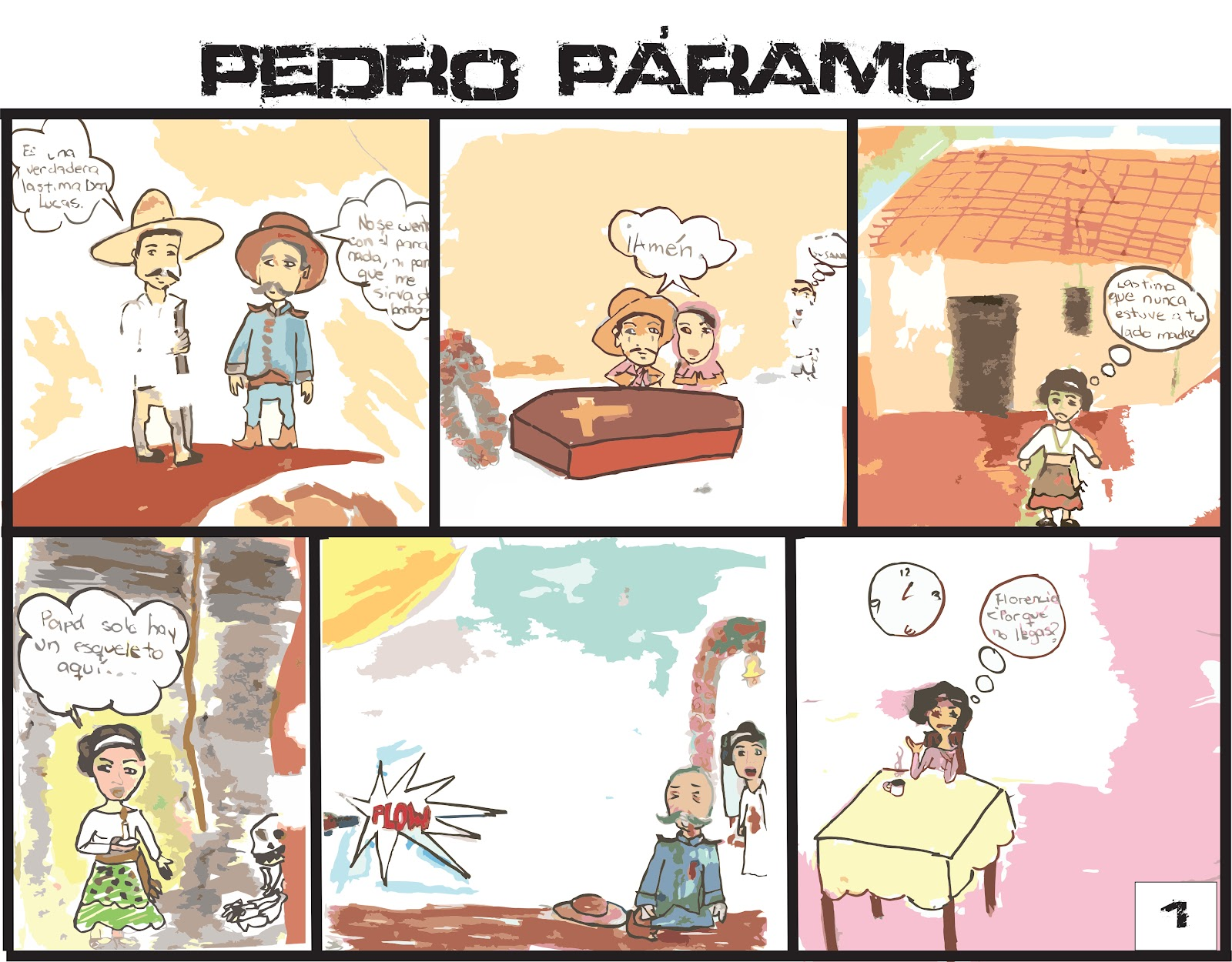 pedro paramo notes In the novel pedro paramo,  susana san juan plays an important yet ambiguous role  romanticism research notes  compaere and.