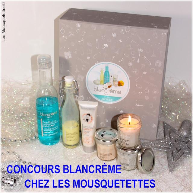 Concours Blancrème chez Les Mousquetettes©