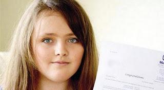 Nicole Barr - A menina cigana de 12 anos que tem QI superior ao de Einstein