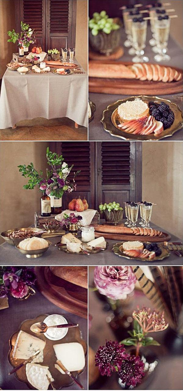 como preparar una tabla de quesos gourmet romántica en el campo