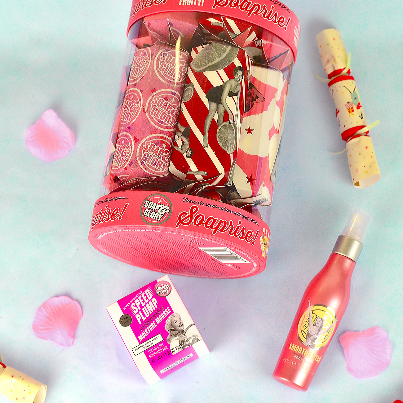 soap and glory christmas soaprise review