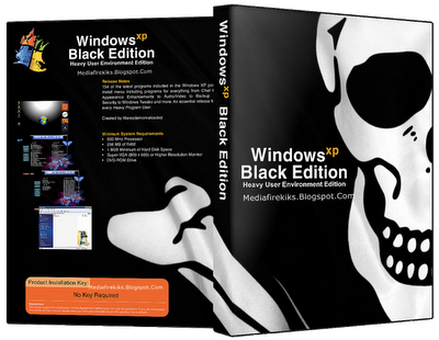 Windows Xp SP3 Black Edition 2013 Profesional