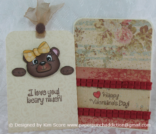 For My Second Card, I Created A Pocket With A Bear Peeker. The Step By Step  Tutorial For This Card Will Be On My Blog Tomorrow So Please Come Back For  The ...
