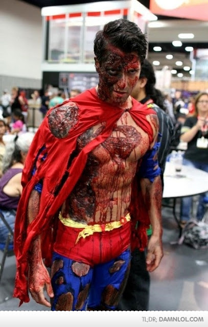 ZOMBIE SHOTS: Superman Zombie