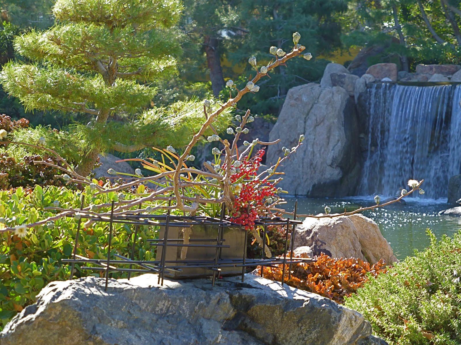 desert japanese garden Ikebana in Desert: Ikebana in Japanese Friendship Garden