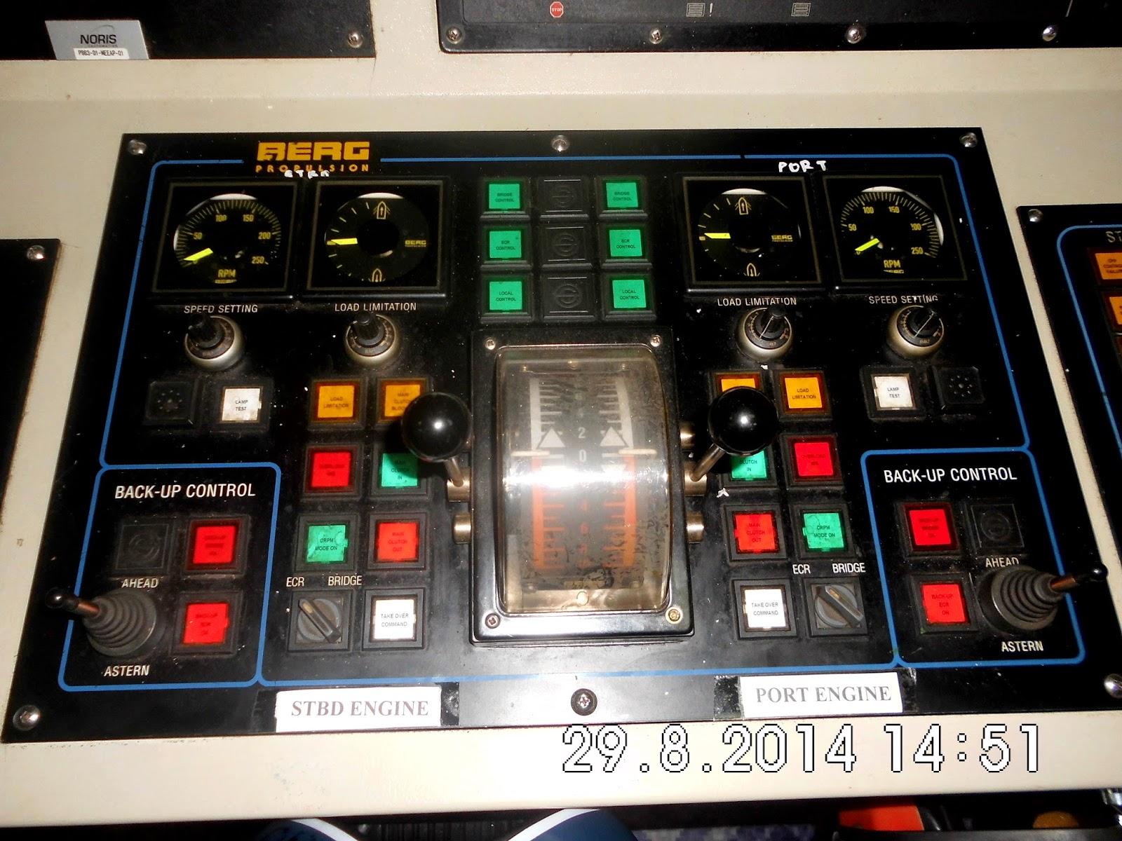 Engine Remote Control System ERC300 CP