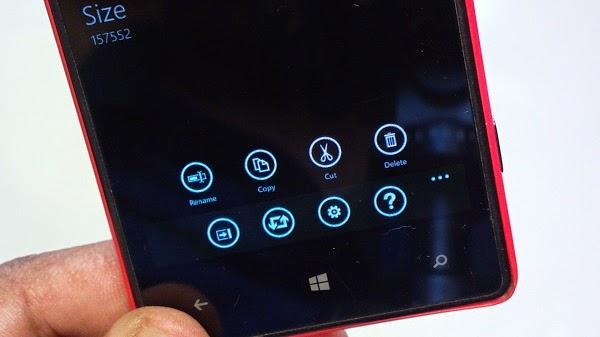 Aerize Explorer - Quản lí dữ liệu trên Windows Phone