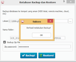 Cara Backup Manual Database Cyberindo Billing