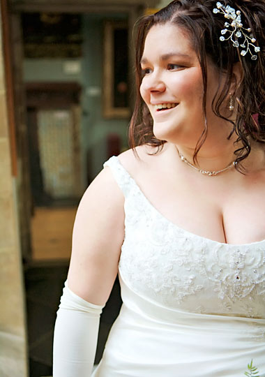 Wedding dresses for plus size women fashion world world for Wedding dresses for big busted women