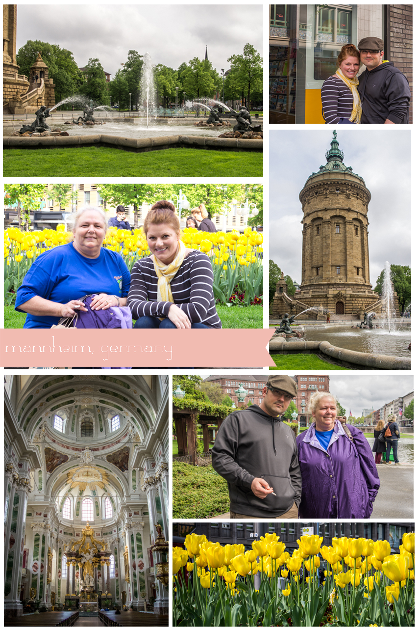 Day trips from Rheinland Pfalz: Mannheim, Germany