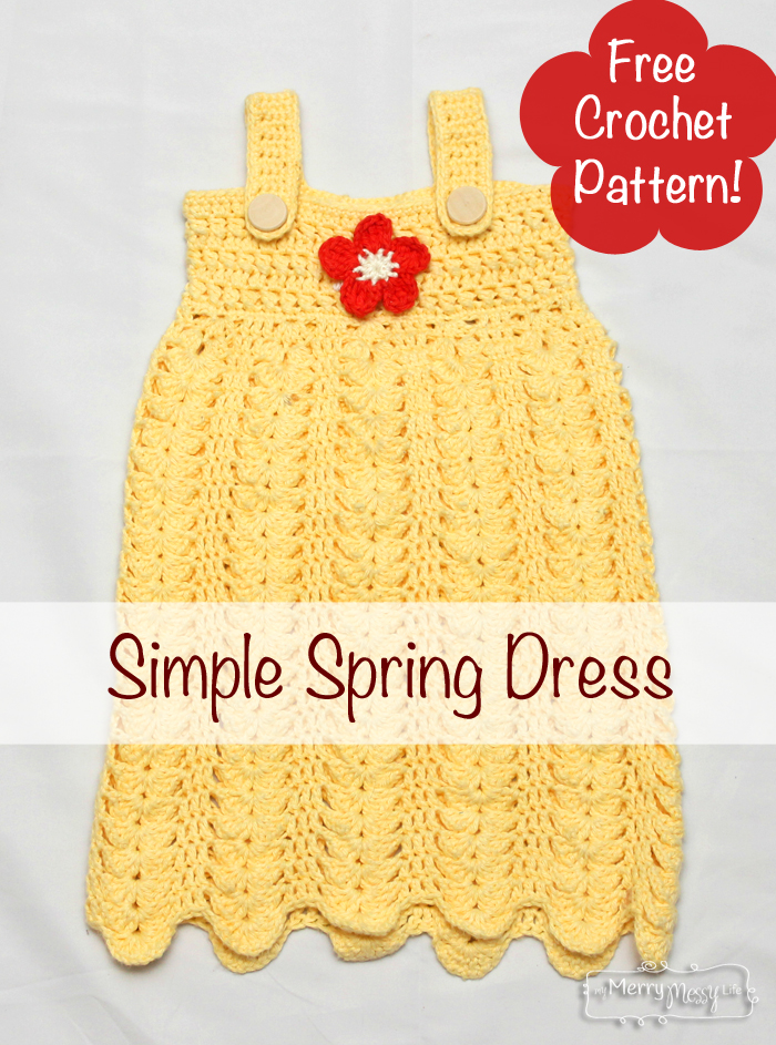Free Crochet Pattern For Toddler Summer Dress : Made In Craftadise Top Art & Crafts, Home Decor blog in ...
