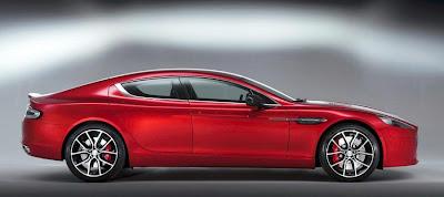 Aston Martin Rapide S (2013) Side