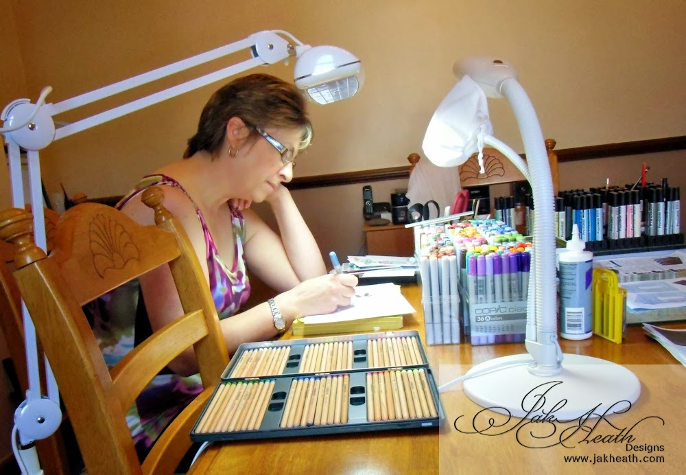 Over The Last Few Weeks I Have Been Using The Triple Light Daylight Lamp  From The Daylight Company To Craft Under.