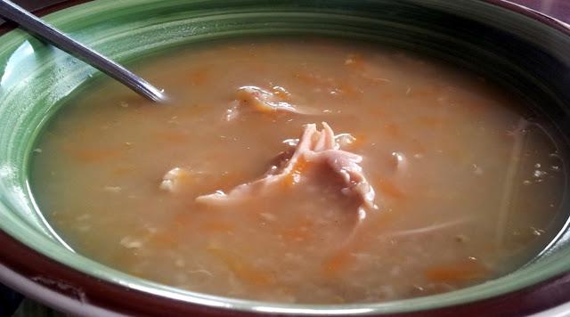 Freekeh Soup Recipe by www.dish-away.com