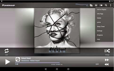 Aplikasi Pemutar Musik Lirik Lagu Android
