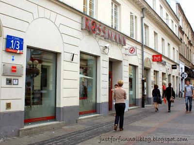 Shopping in Warsaw: Nail Polish! Rossman
