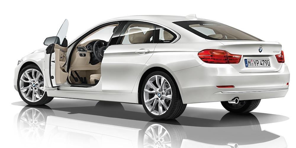 BMW 4シリーズグランクーペ・モダンライン