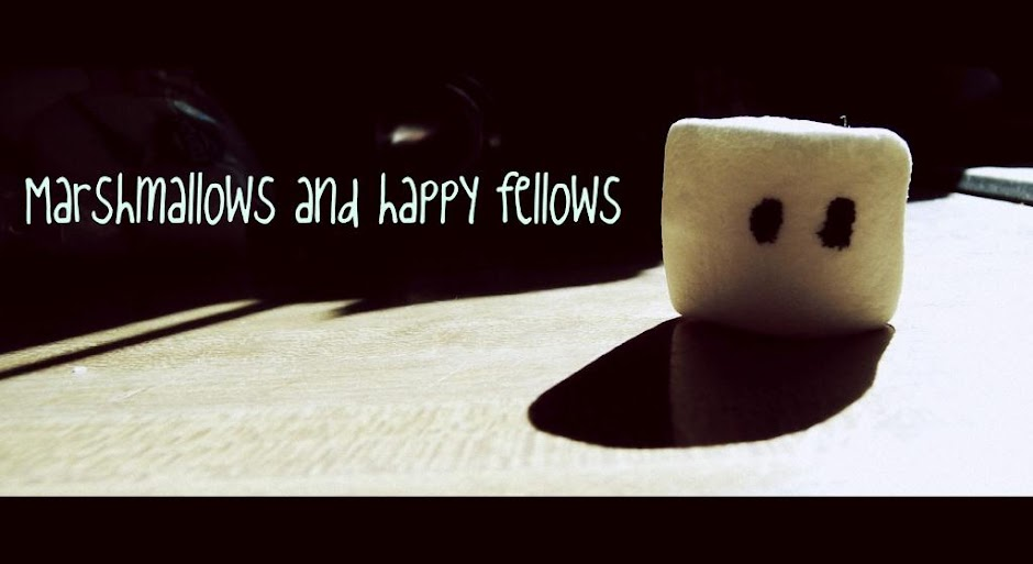Marshmallows and happy fellows
