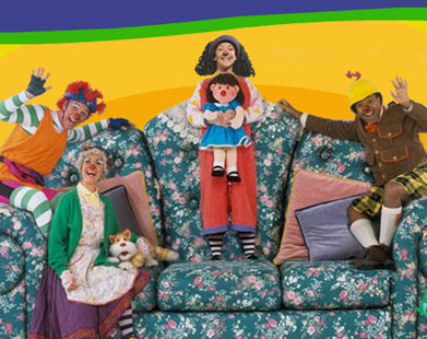 Life As Leigh Sees It The Big Comfy Couch