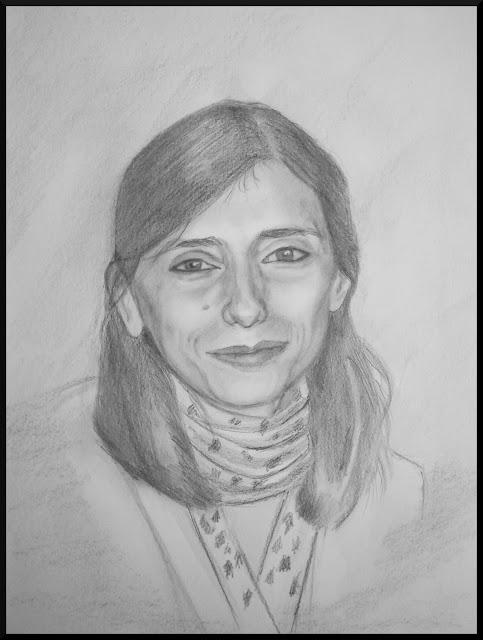 retrato+pili2 - La sonrisa de mi cuñada.