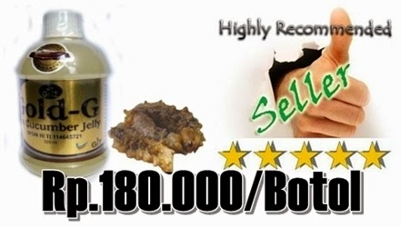 Obat Herbal Jelly Gamat Gold-G